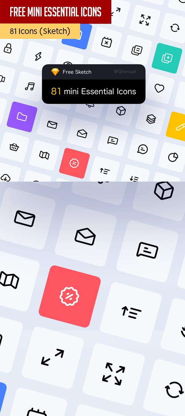 Mini Essential Icons