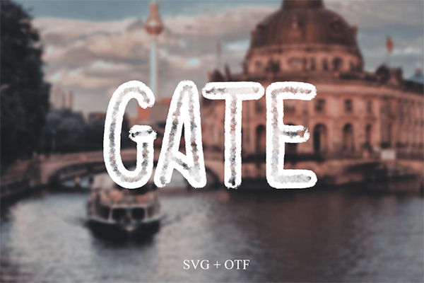 Gate Free Font