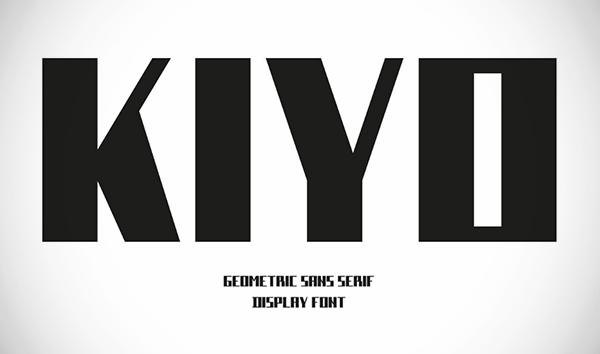 Kiyo Free Font