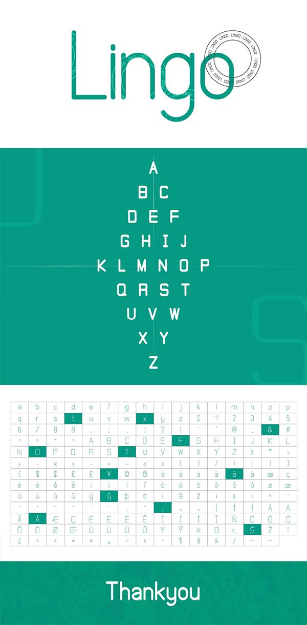 Lingo Free Font
