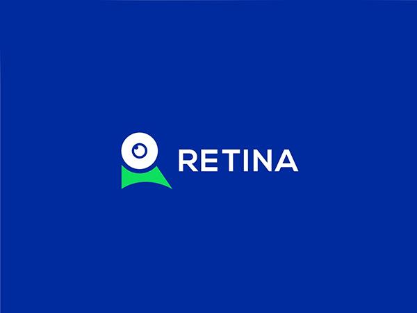 Retina Logo Design