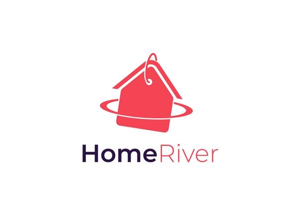 HomeRiver Concept Logo