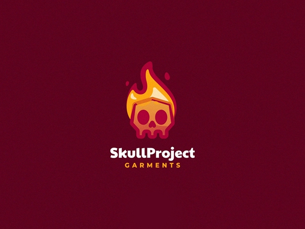 Skull Project Logo Design