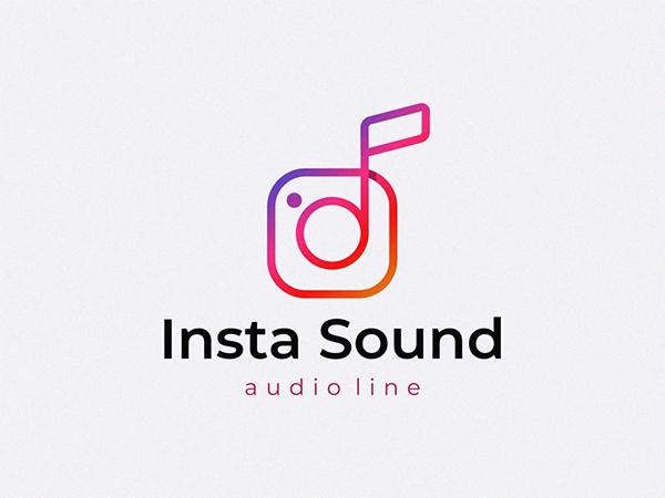 Insta Sound Logo Design