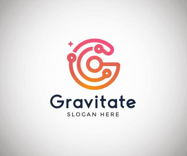 Gravitate Letter G Logo Template