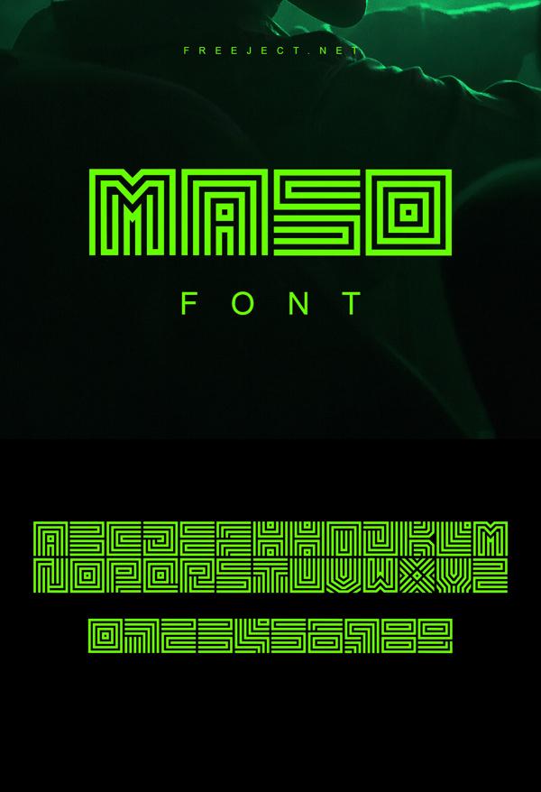 Maso Free Font