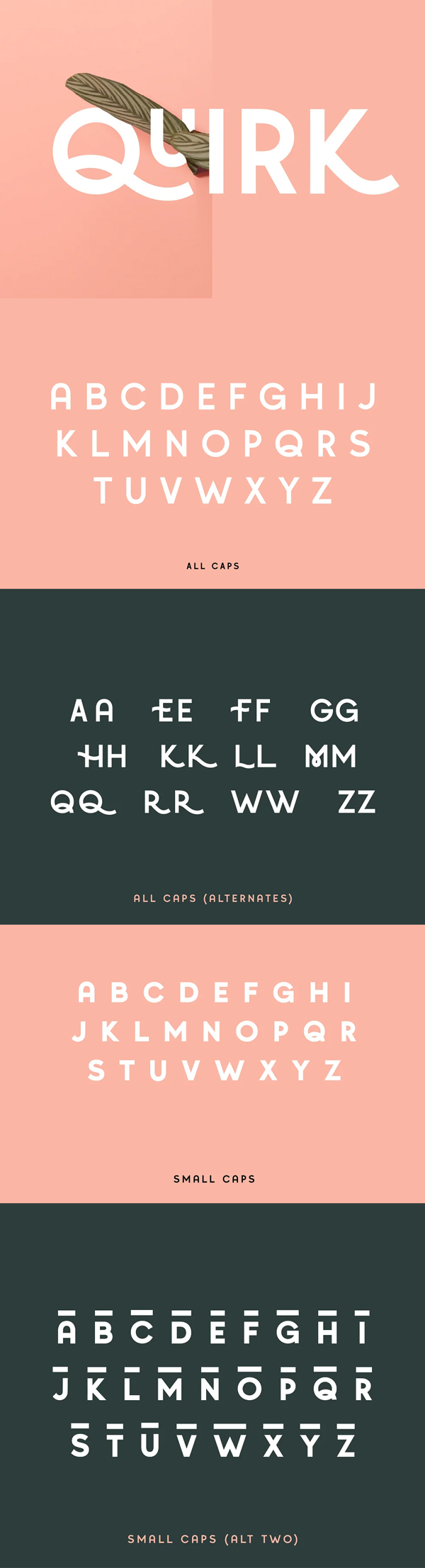 Quirk Fun Display Font