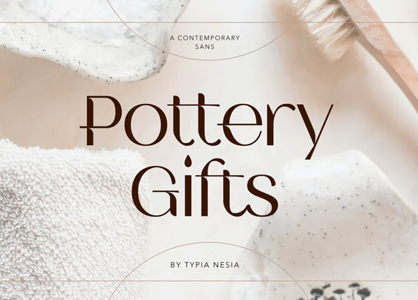 Pottery Gifts - Aesthetic Beauty Sans