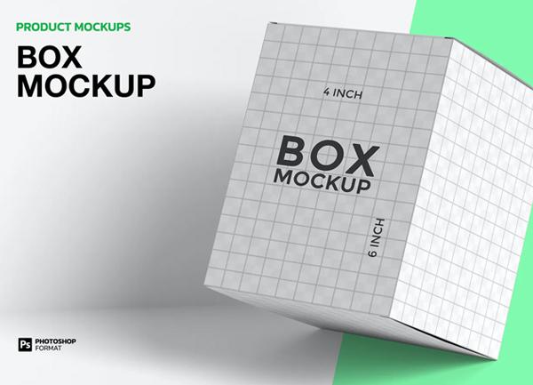 Box - Mockup Template