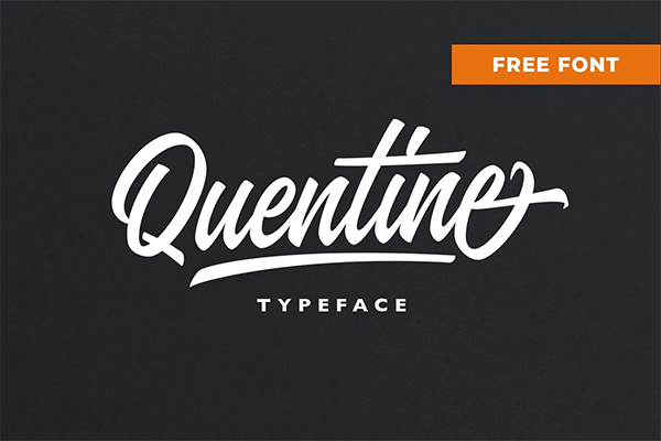 Quentine Free Font