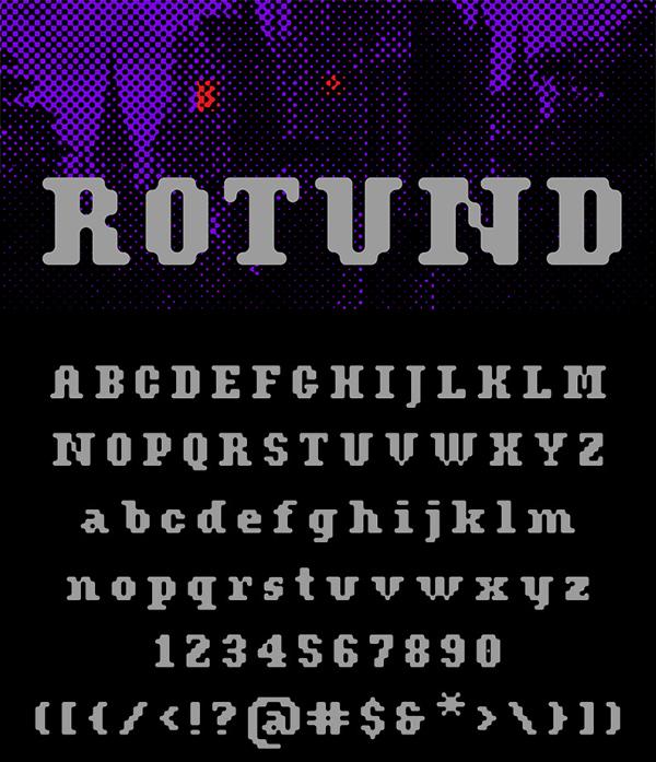 Rotund Free Font