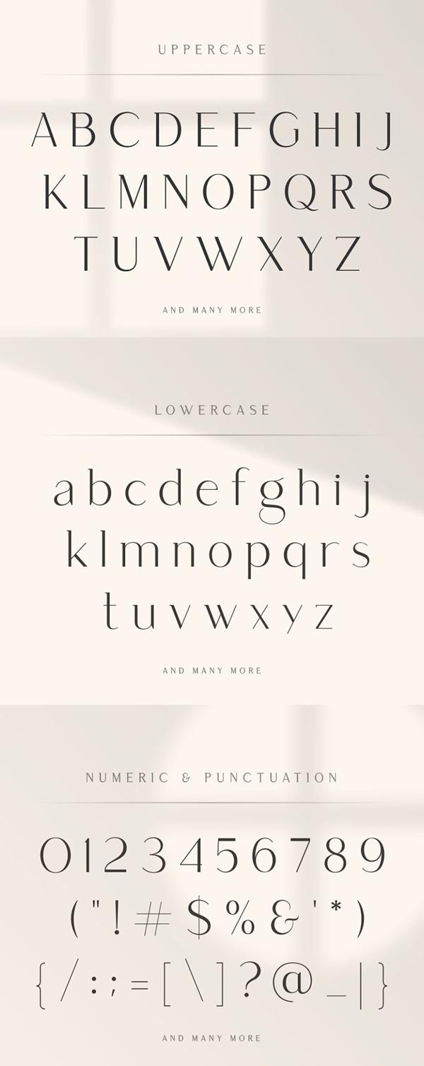 Saudagar Display Font + 7 Bonus Logo Font
