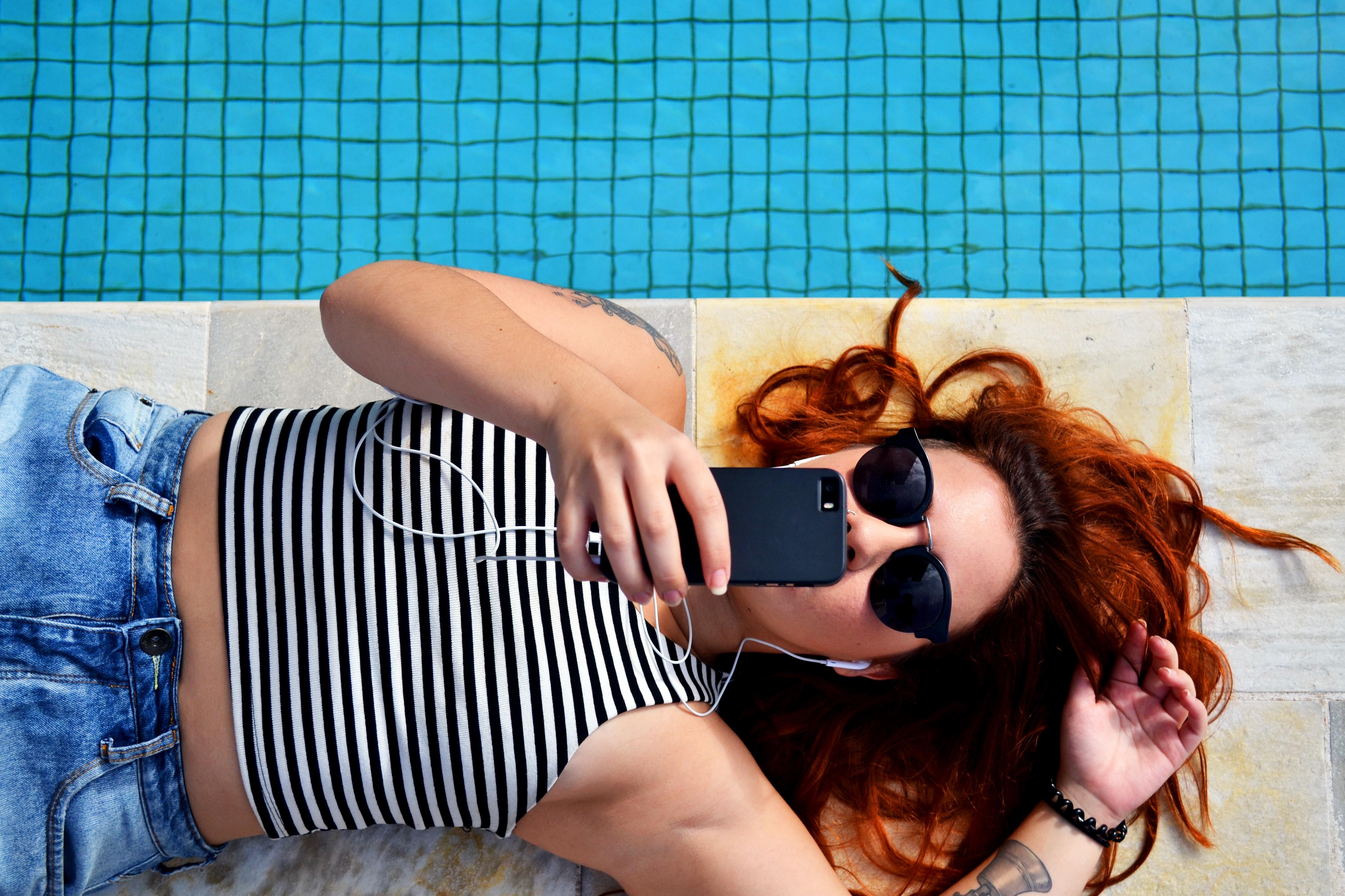 summer stock photos pool