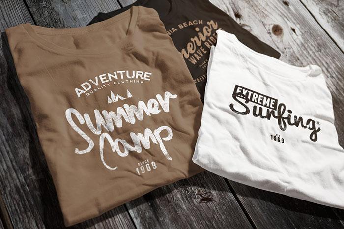 summer website themes shirt logo