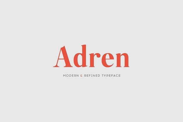 15 fonts like Georgia Adren web font