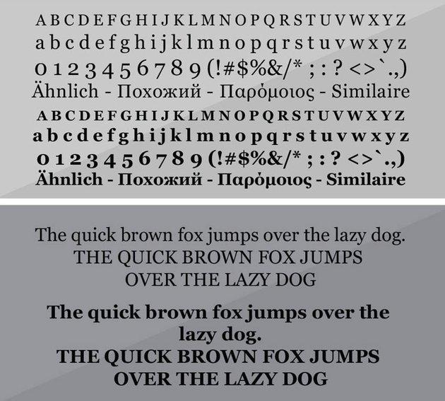 georgia typeface font specimen styles regular bold italic font family georgia