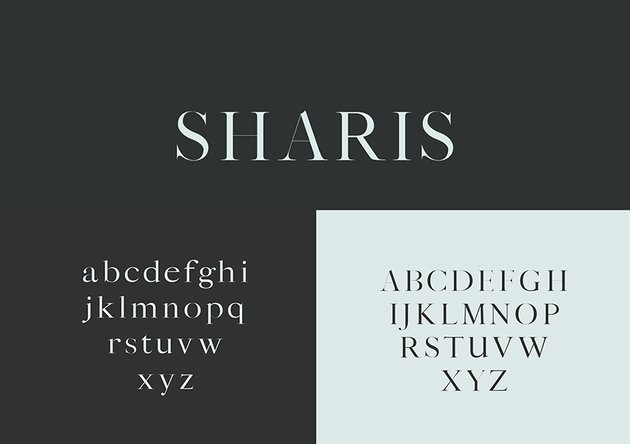 Sharis web font modern simple multilingual similar georgia envato elements