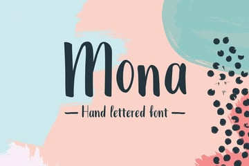 Mona Extended Font