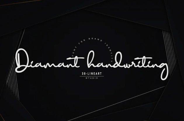 Diamant handwriting