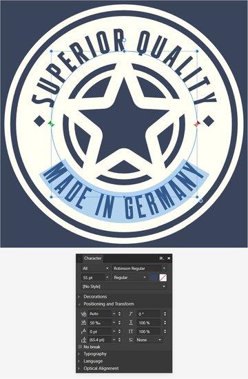 Affinity Designer style