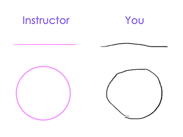 I Want to Draw Tutorial Straight Line Drawing