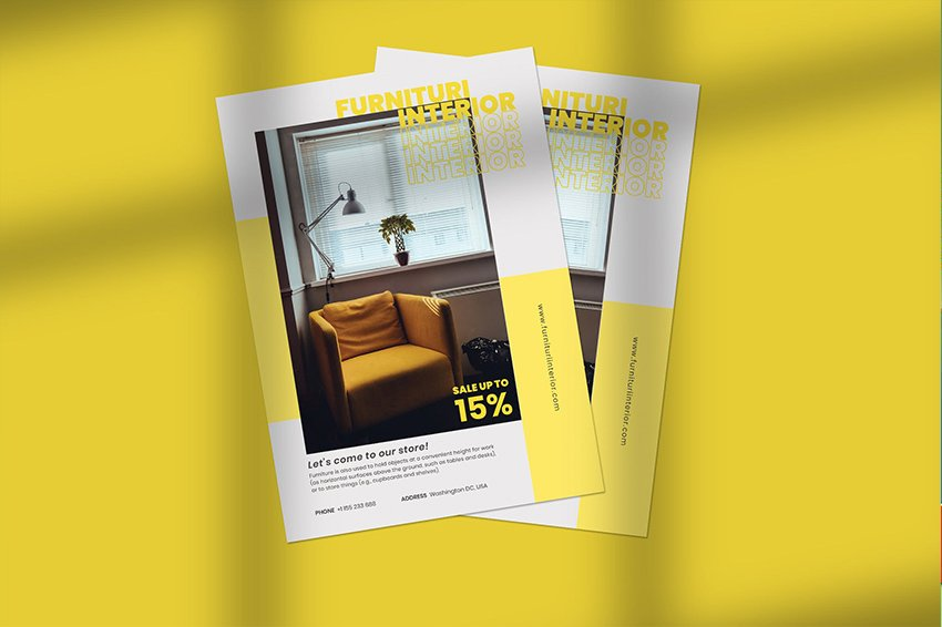 flyers vs brochures difference promotional sample