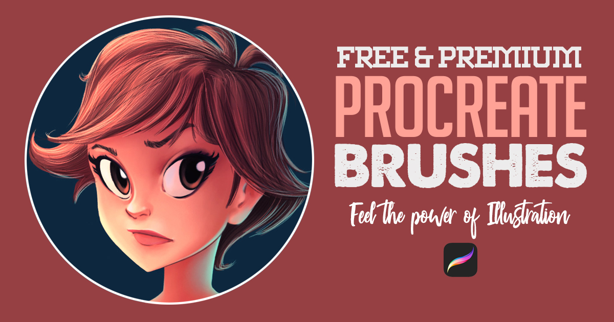 Best Procreate Brushes For Illustration (Free & Premium)