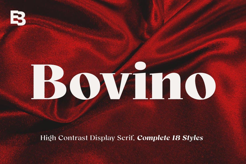 Bovino Font