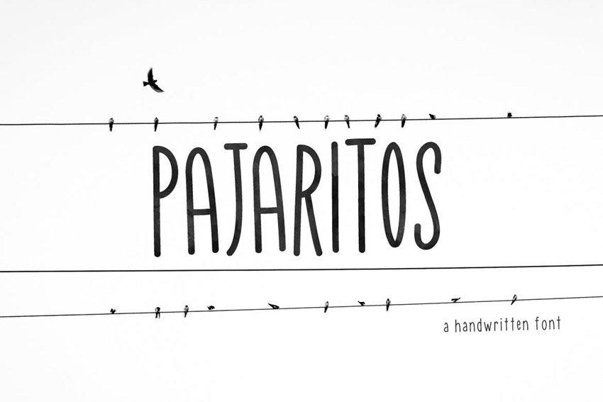 Pajaritos Handwritten Font