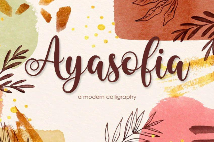 Ayasofia   Modern Calligraphy