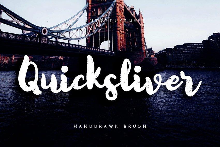 Quicksliver Handdrawn Brush