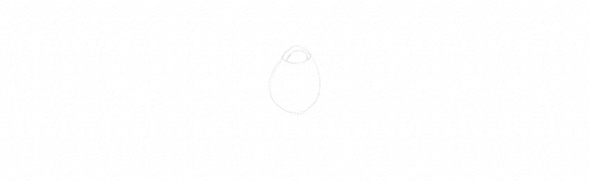 how to draw a small rose bud