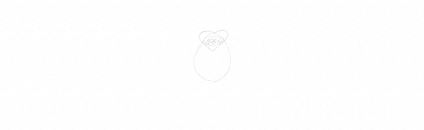 How to Draw a Rose Step by Step Tutorial Rose Petals Flower Outline Drawing