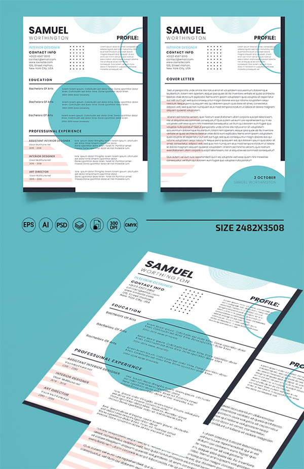 Free CV and Cover Letter Template