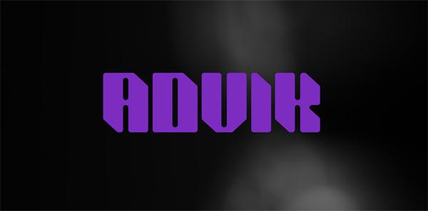 Advik Free Display Font