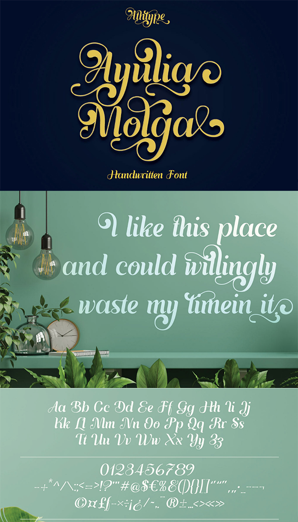 Ayulia Molga Free Font