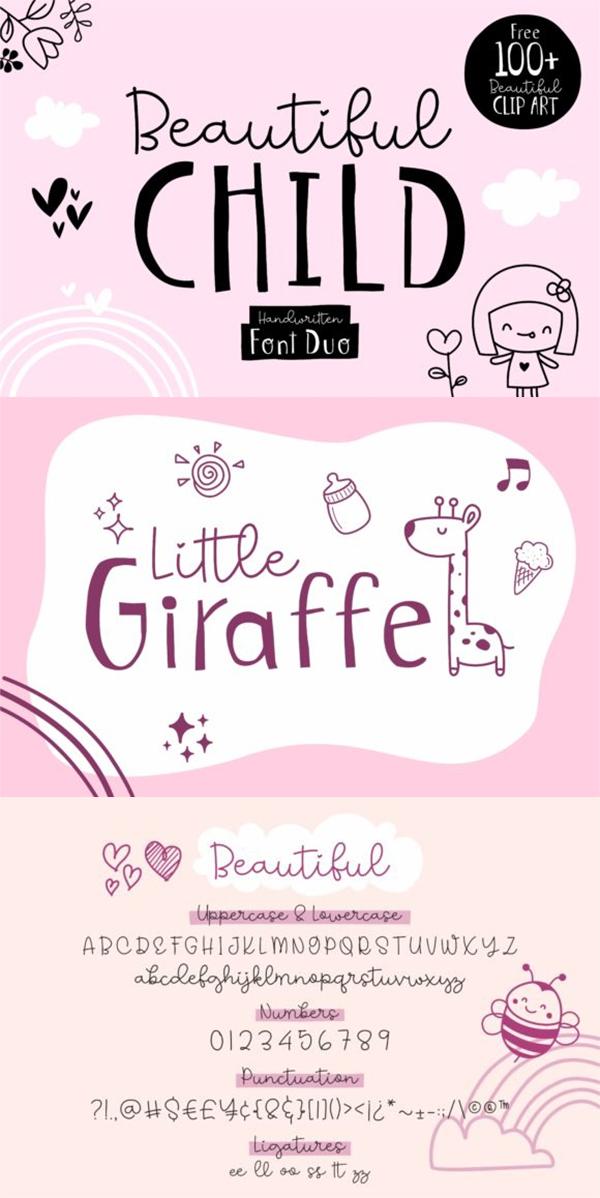 Beautiful Child Font