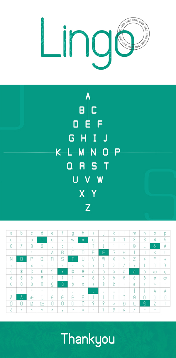 Lingo Logo Font Free Logo Font