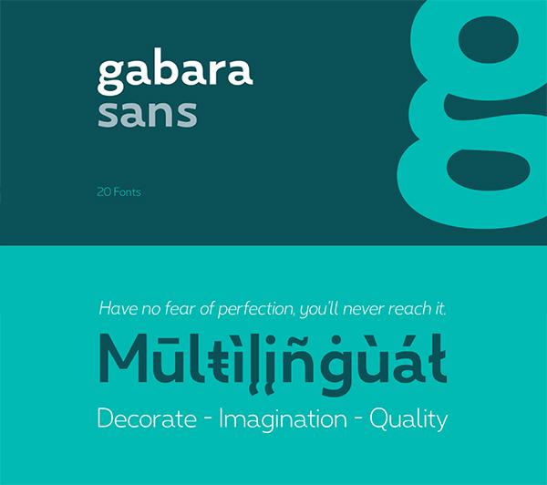 Gabara Logo Font Free Logo Font