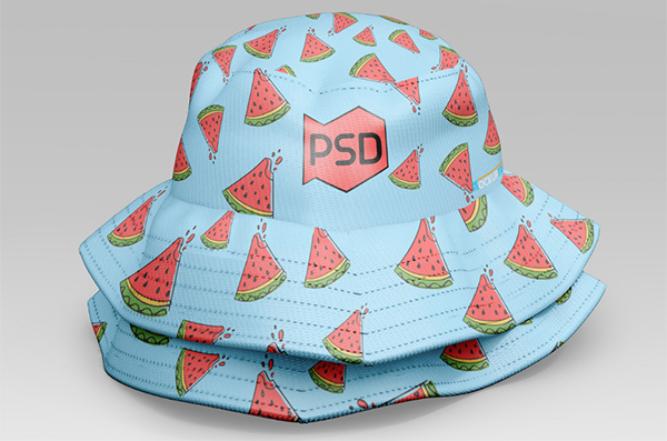 Free Bucket Hat Mockup