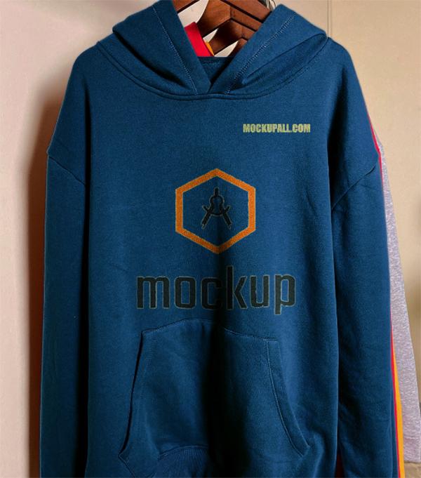 Colorful Hoodie Free Mockup