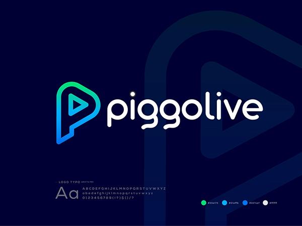 Live Streaming Online App Logo