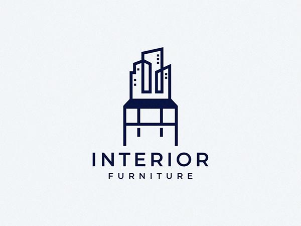 Interior Furniture Logo Design