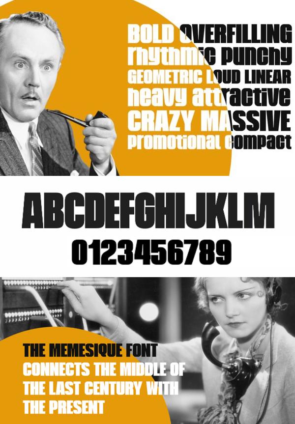 Memesique Font