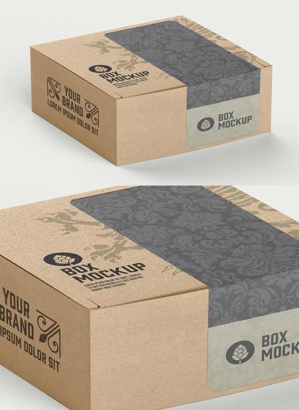 Craft Box Mockup