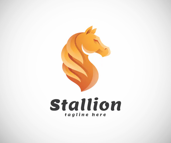 Stallion Logo Template