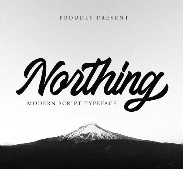 Northing Script Free Font