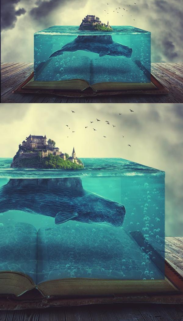 How to Create Stunning Underwater Effects Photoshop Manipulation Tutorial