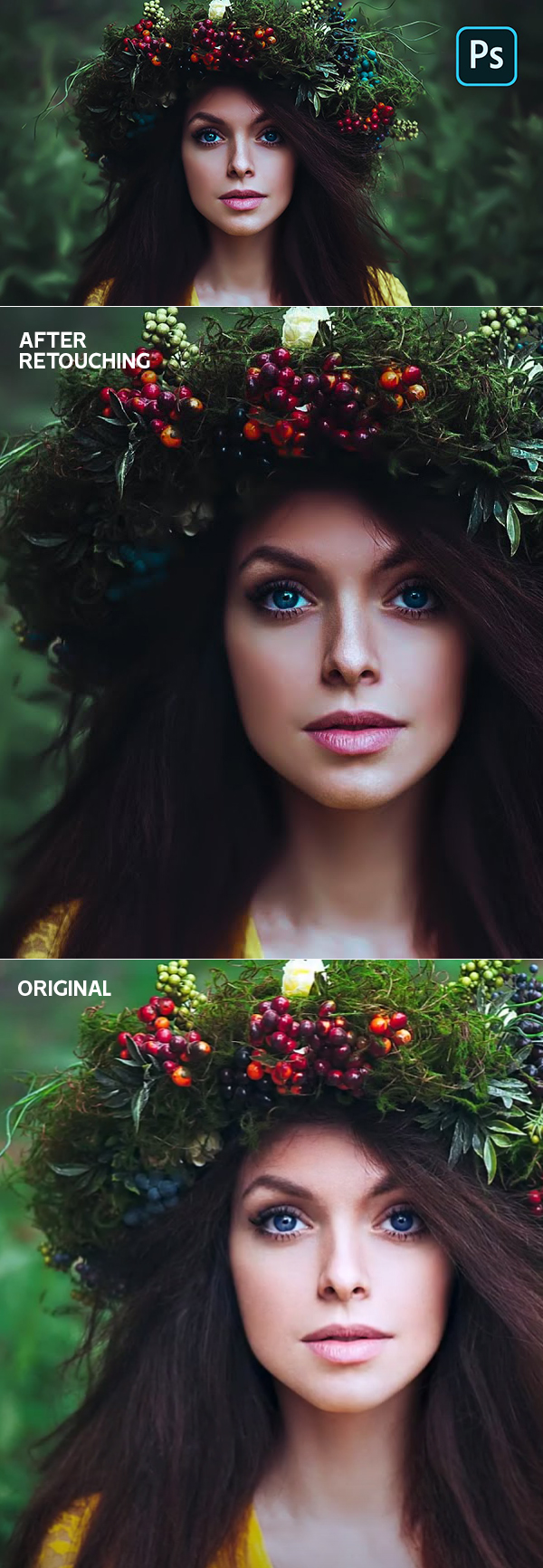 How to Create Artistic Cinematic Teal Color Tone Photo Effect in Photoshop Tutorial