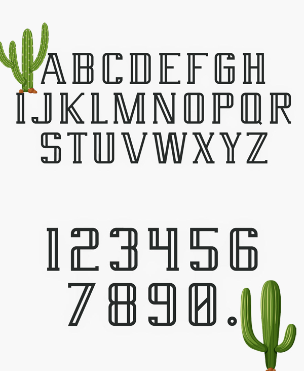 Saguaro Font